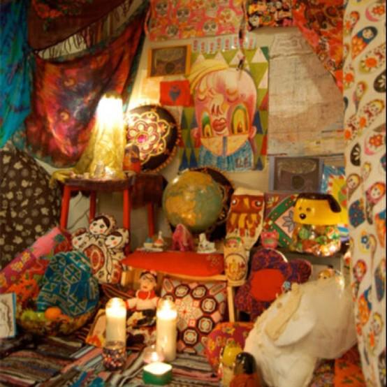 Diy Bohemian Decor: Bohemian Treehouse