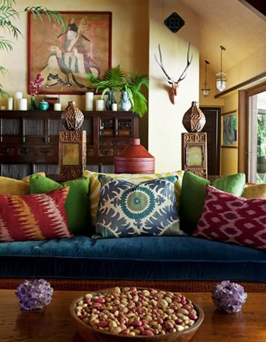 Living Room Design Ideas Bohemian: Martyn Lawrence-Bullard King Of Modern Bohemian Design