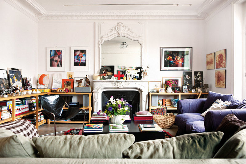 Bohemian gypsy home tour in paris bohemian treehouse for Decoration living appartement