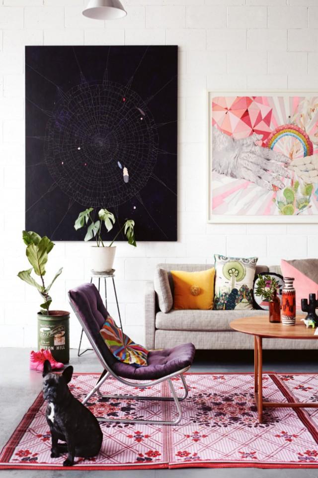 Artistic carpet